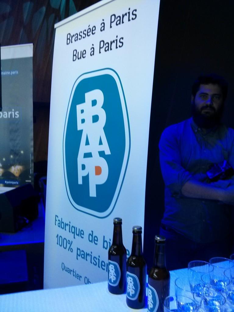 Bap Bap, un bière de parisien que j'ai découvert ce soir là